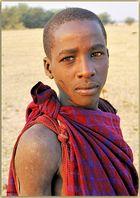 MEMORIAS DE AFRICA -JOVEN MASAI-MANYARA TANZANIA