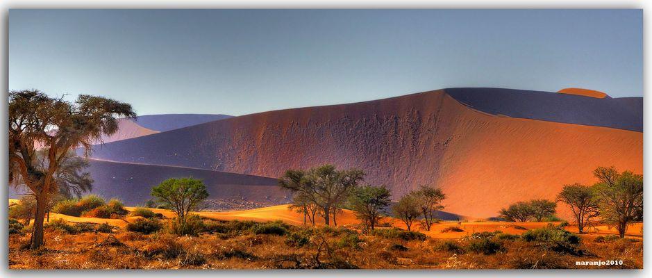 MEMORIAS DE AFRICA-LA MAGIA DE SOSSUSVLEI-NAMIBIA