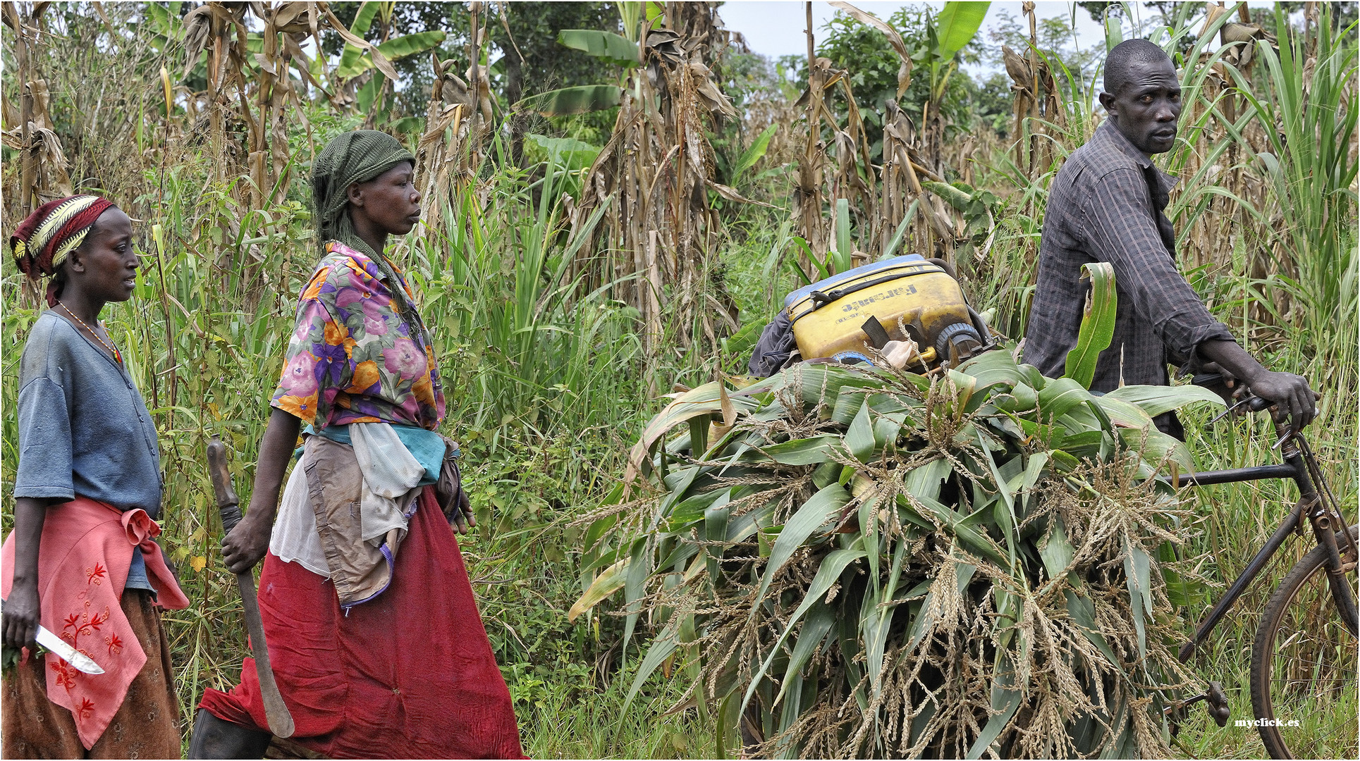 MEMORIAS DE AFRICA -LA POLIGAMIA UNA ELECCION RAZONABLE-UGANDA