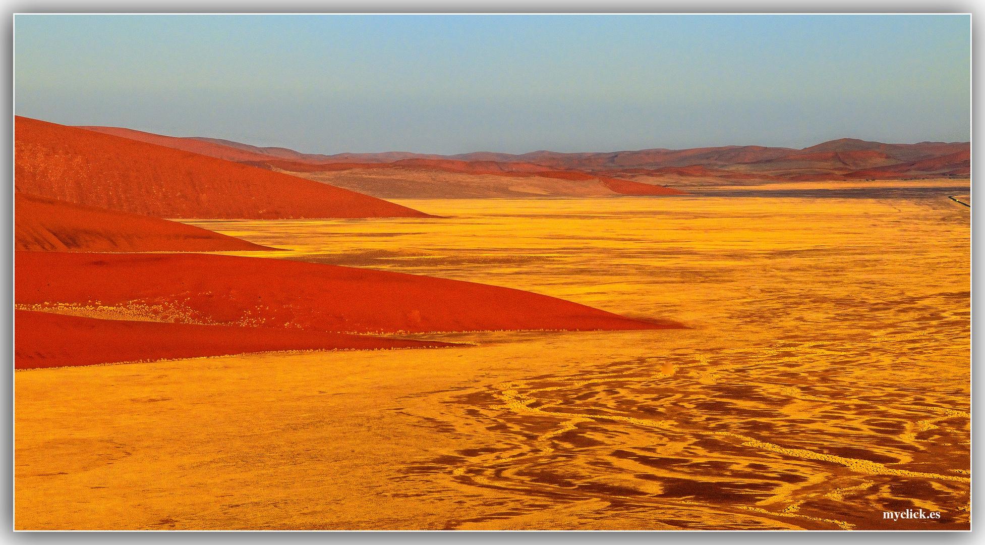 MEMORIAS DE AFRICA-LAS DUNAS DE SOSSUVLEI 3 -NAMIBIA