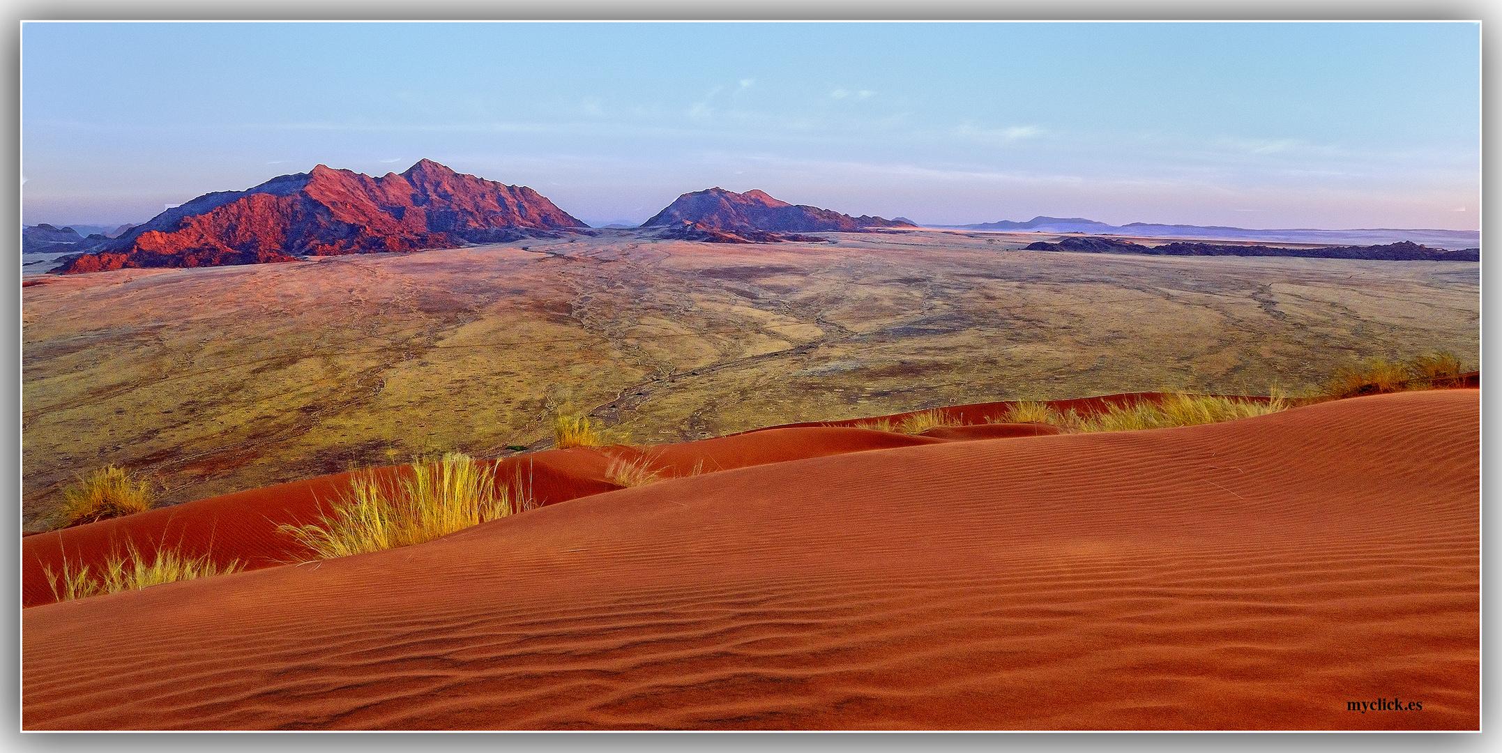 MEMORIAS DE AFRICA-LAS DUNAS DE SOSSUVLEI -NAMIBIA