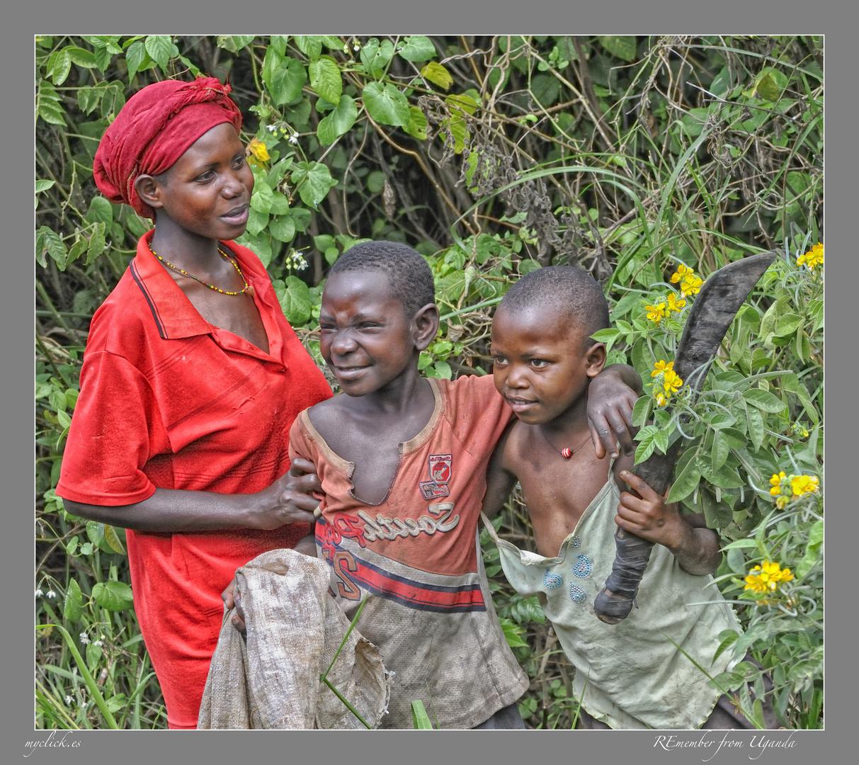MEMORIAS DE AFRICA-NIÑOS TRABAJADORES-UGANTA