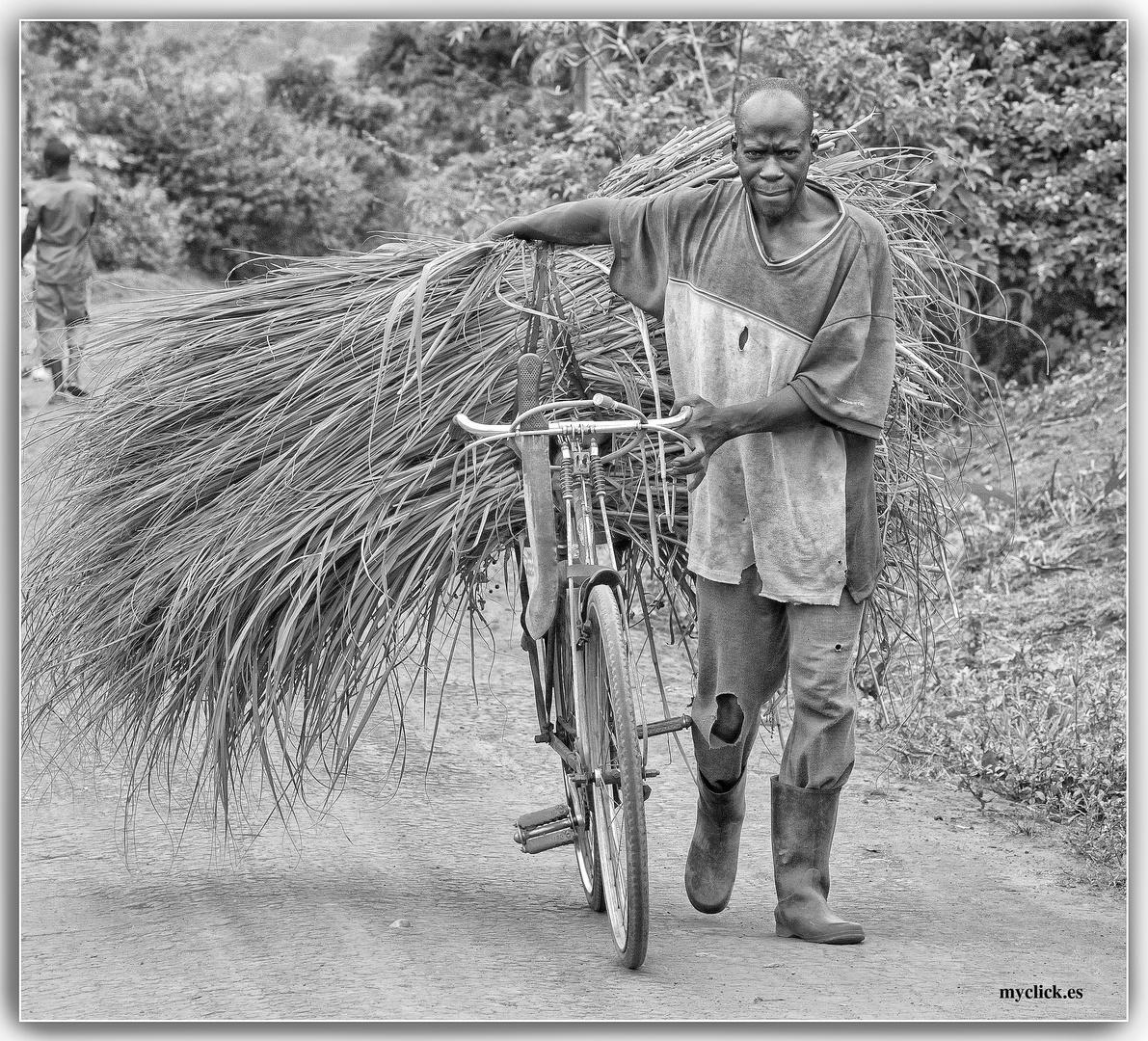 MEMORIAS DE AFRICA-UN AGRICULTOR EN EL CAMINO - UGANDA