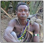 MEMORIAS DE AFRICA-UN CAZADOR HADZABE-TANZANIA