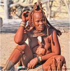 MEMORIAS DE AFRICA -UNA MUJER HIMBA-KUKENE -NAMIBIA