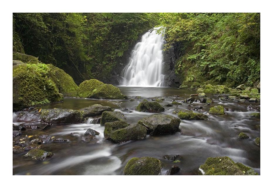 memories of Ireland - Glenoe Falls