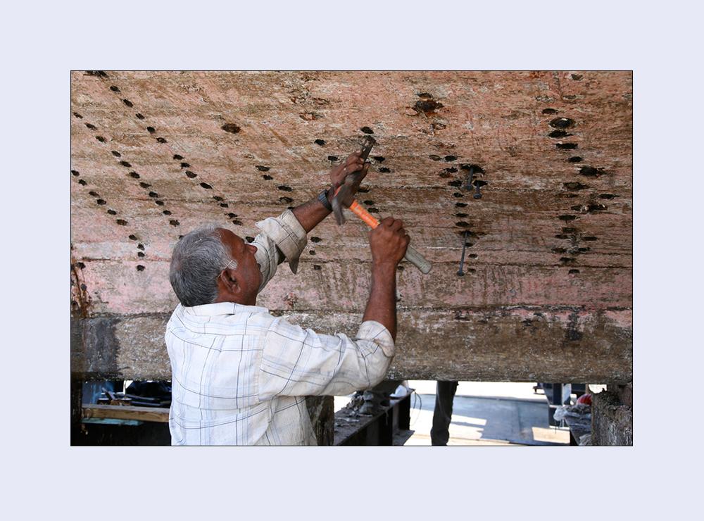 men at work - der Rostklopfer