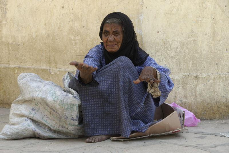 Mendicante Egiziana