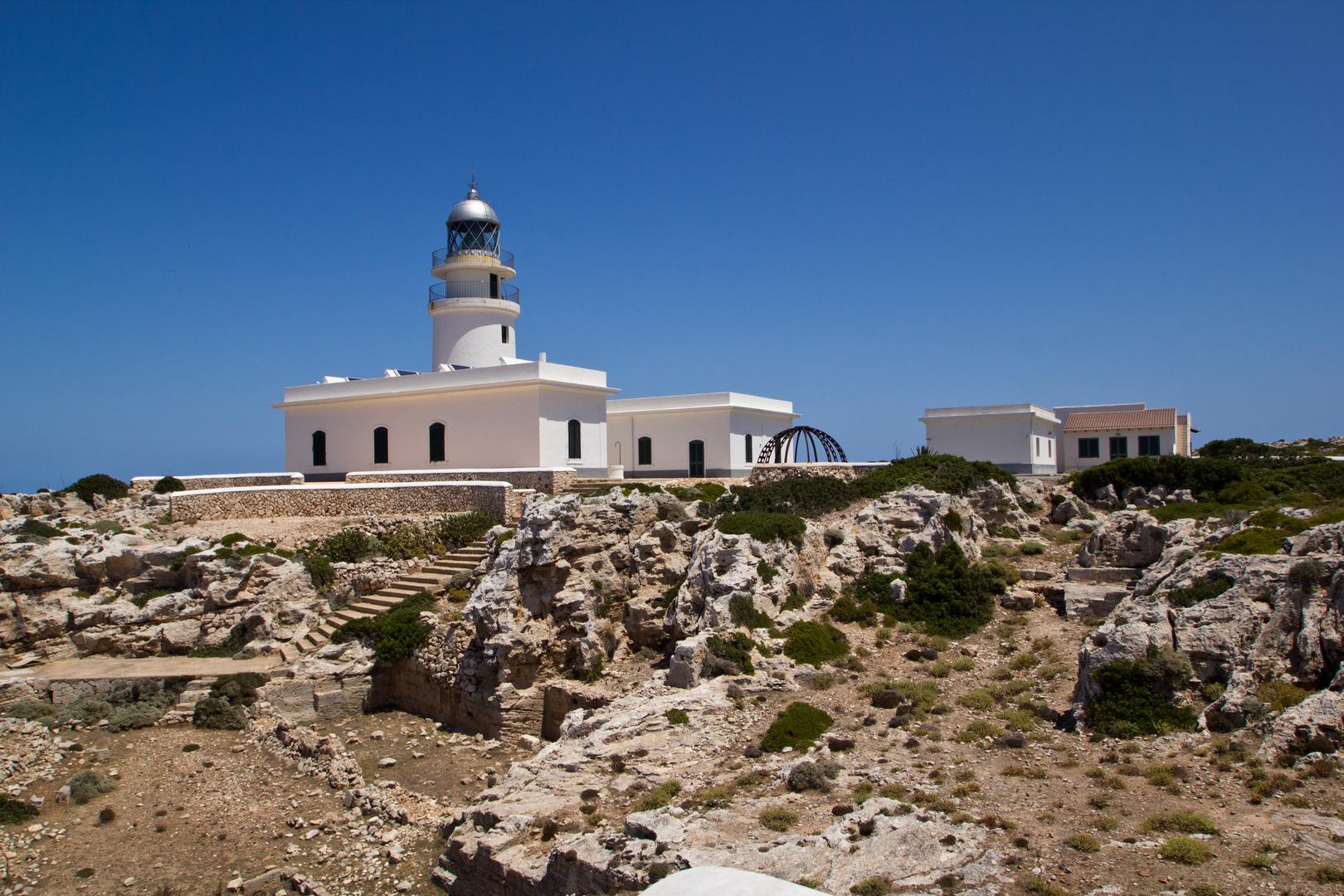 Menorca Impressionen - Leuchturm Cap de Cavalleria (143)