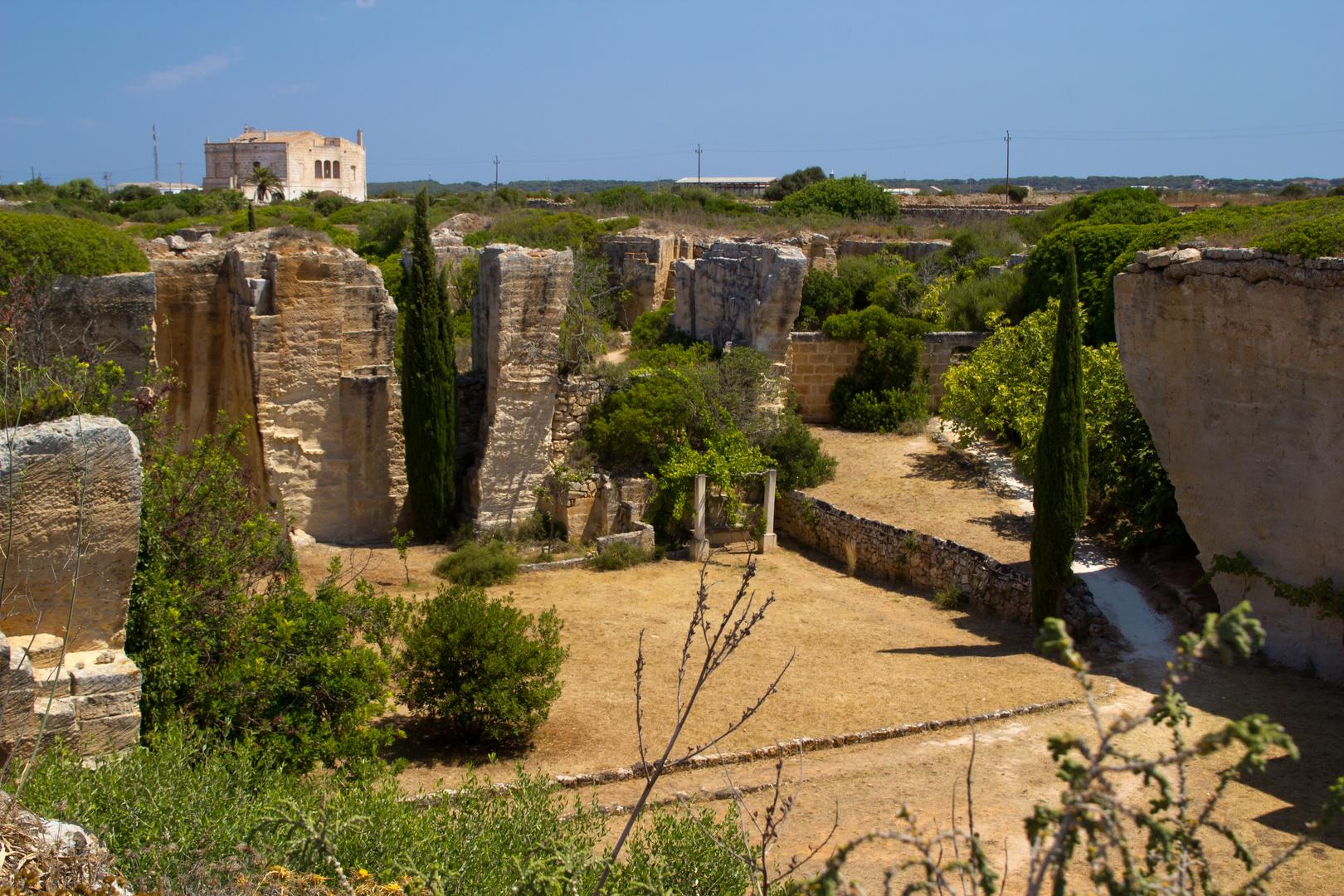 Menorca Impressionen - Steinbruch Lithica (178)