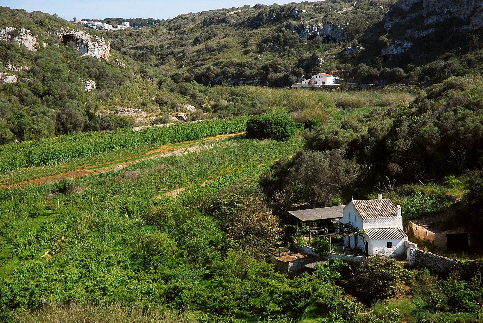 Menorca, Torrent de Cala en Porter