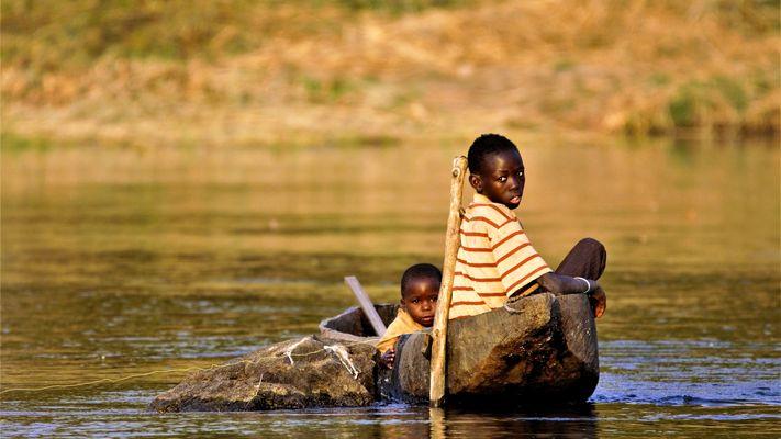 Menschen am Kavango (VI)