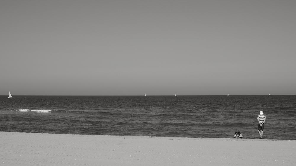 Menschen am Meer