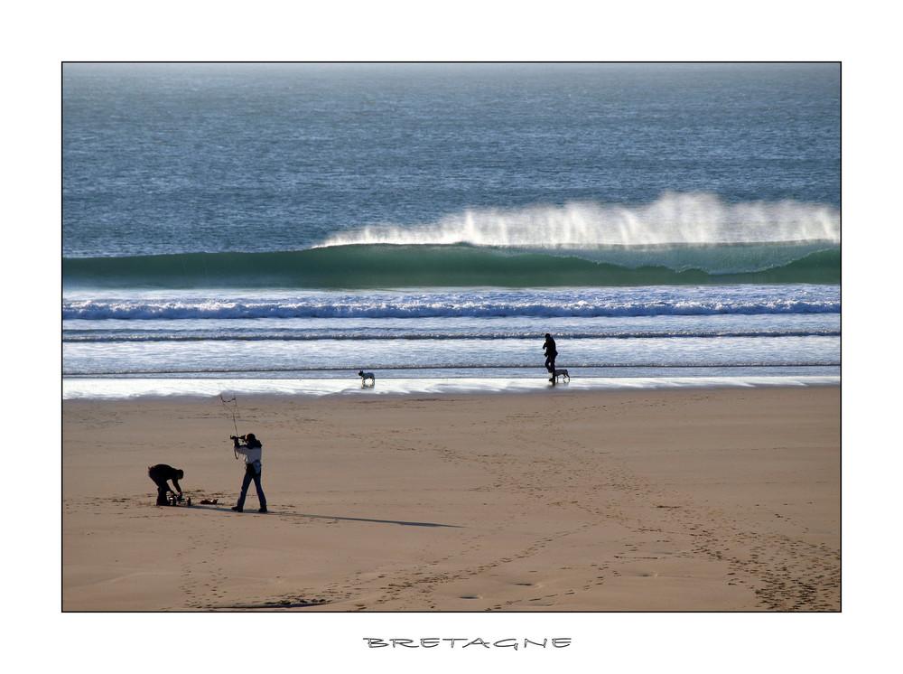 Menschen am Strand 2