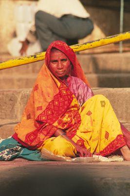 Menschen aus Indien - Asket