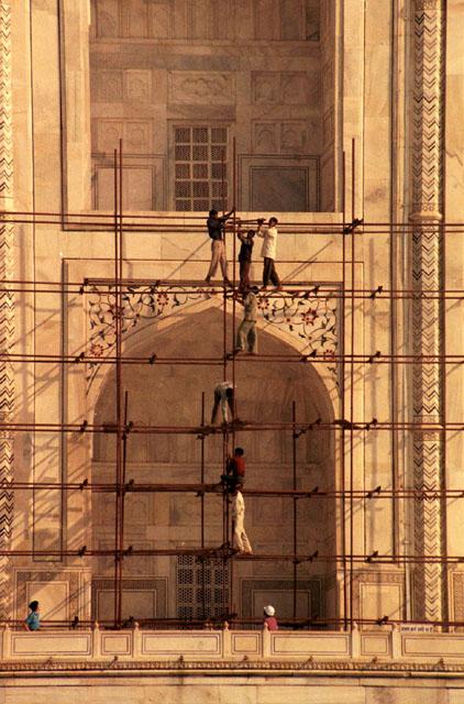 Menschen aus Indien - Bauarbeiter