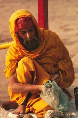 Menschen aus Indien - Bettler