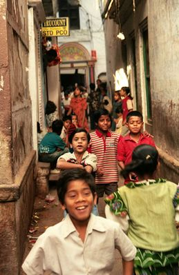 Menschen aus Indien - Kinder