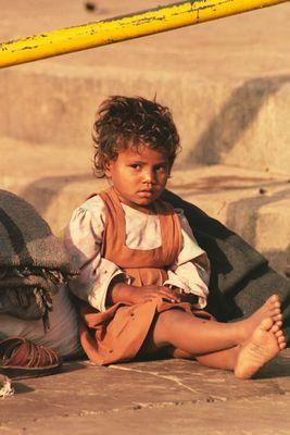 Menschen aus Indien - Strassenkind