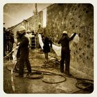 Menschen bei der Arbeit - Bauarbeiter