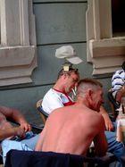 menschen beim Bier