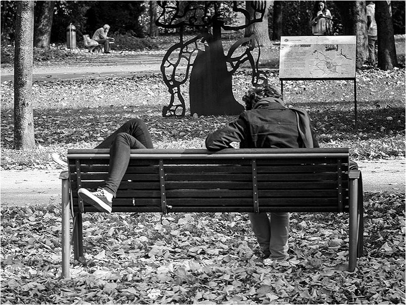 Menschen im Park #6