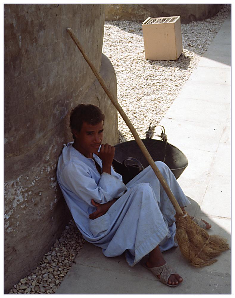 Menschen in Ägypten: So sauber wie geleckt...