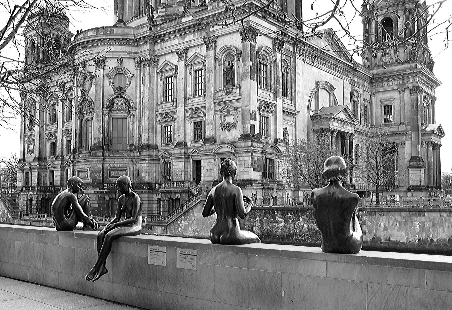 Menschen in der Hauptstadt