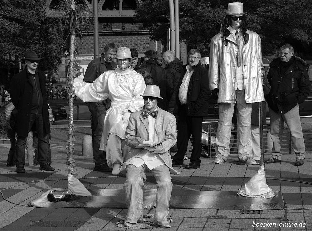 Menschen in Hamburg