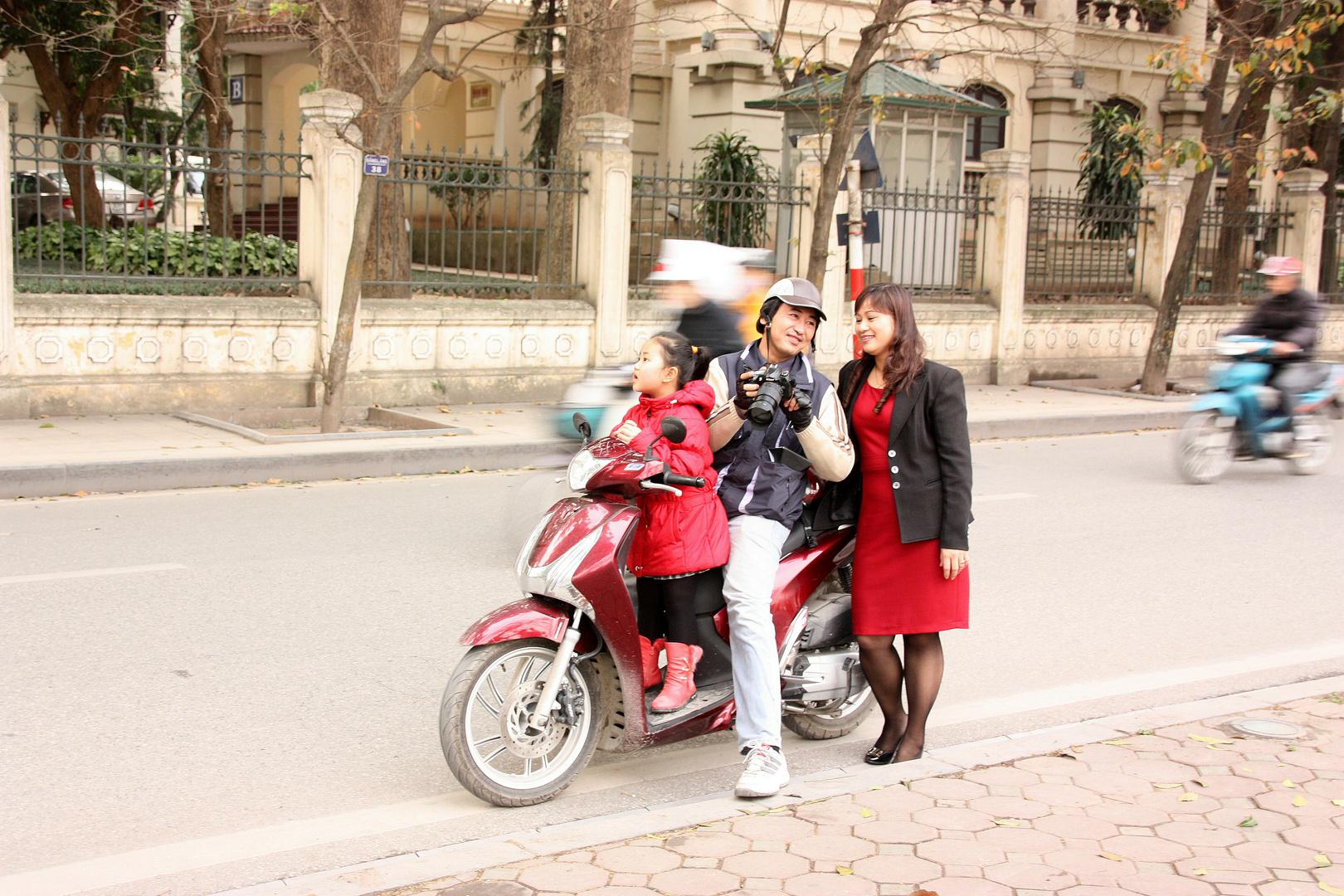 Menschen in Hanoi 6
