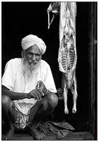 Menschen in Indien - Ein Metzger aus Amritsar