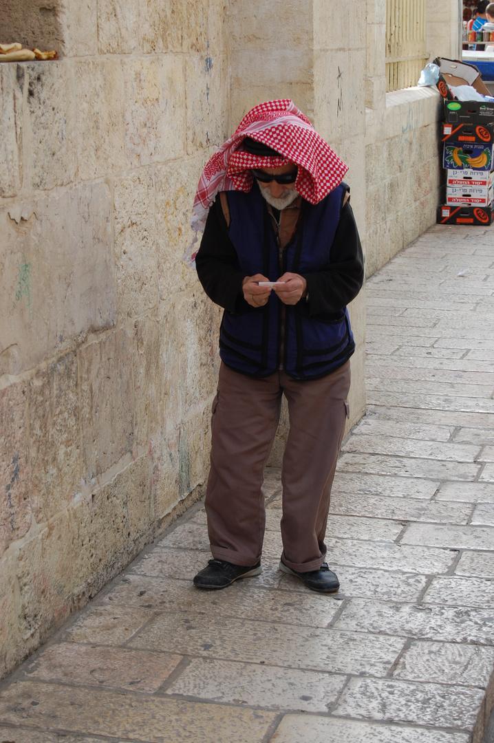 Menschen in Jerusalem 1