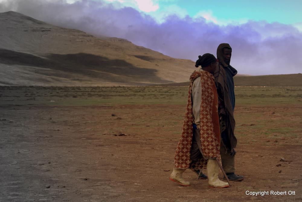 Menschen in Lesotho