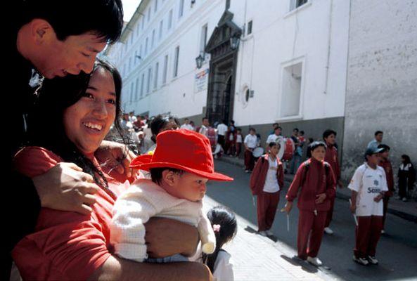 Menschen in Quito