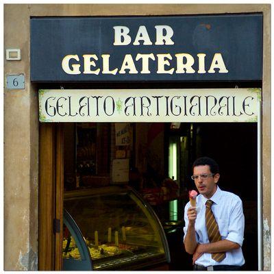 Menschen in Siena 3