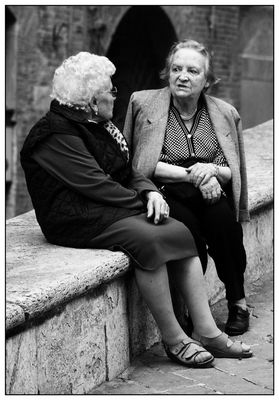 Menschen in Siena 4
