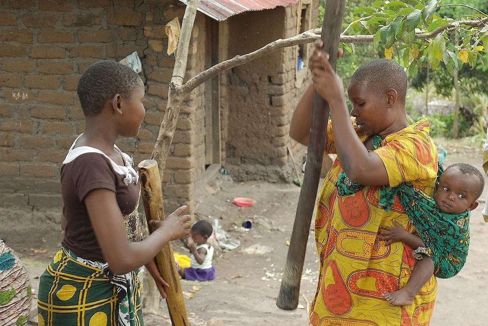 Menschen in Tanzania 6