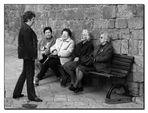 Menschen in Volterra