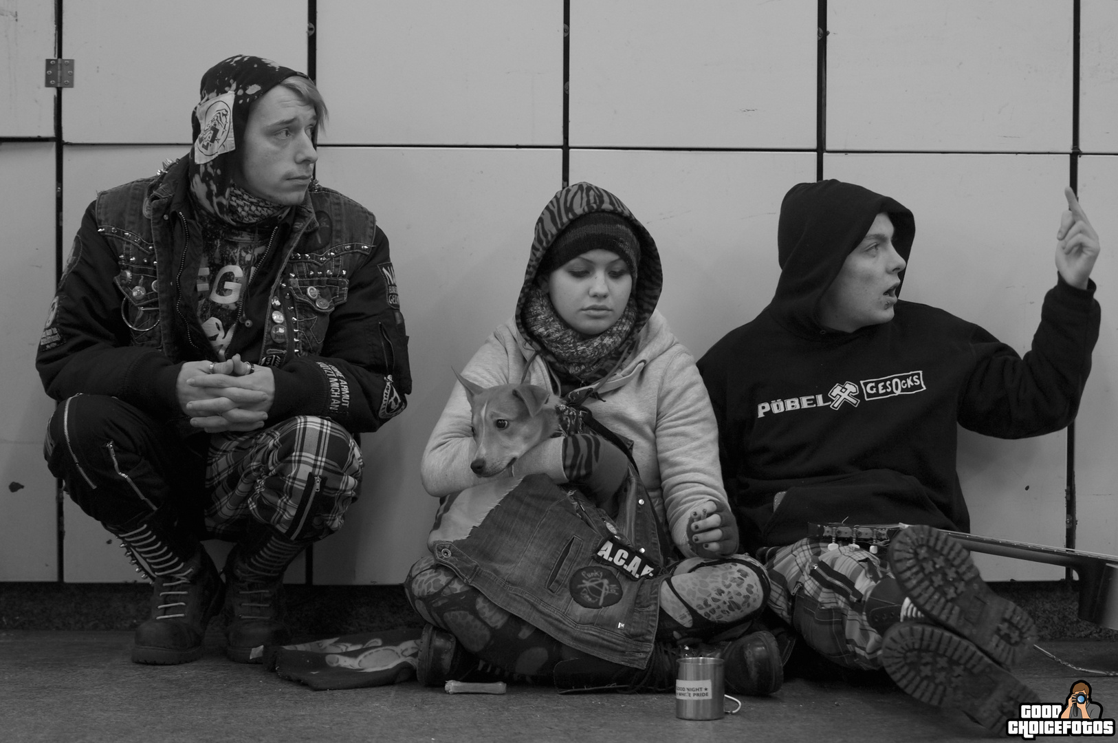 Menschen von der Straße