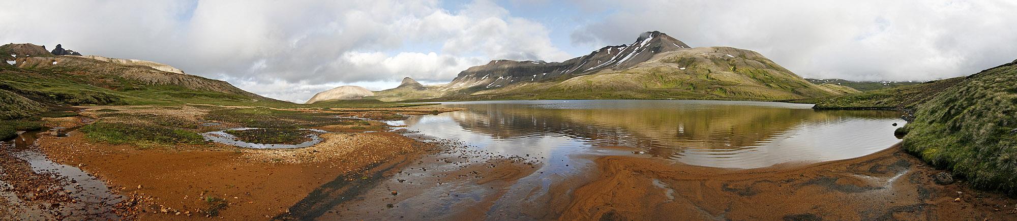 Menschenleere in Island