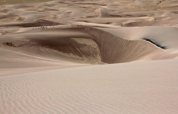 Menschliche Lemminge - Great Sand Dune