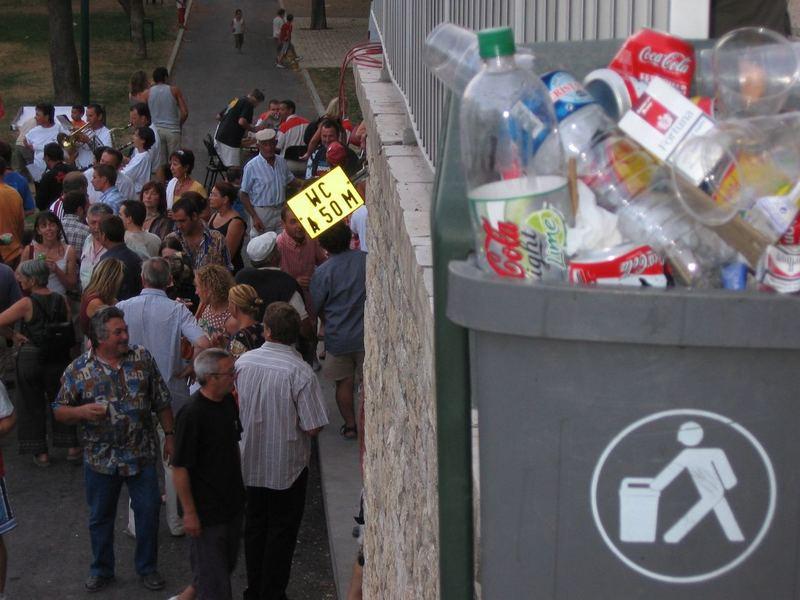 Menschlicher Müll