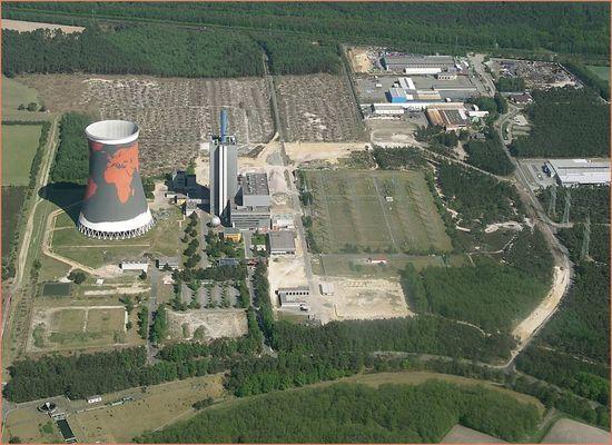 Meppen-Hüntel RWE Gaskraftwerk