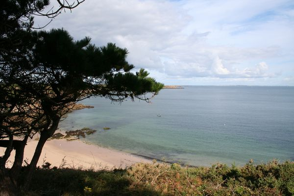 mer calme en Bretagne