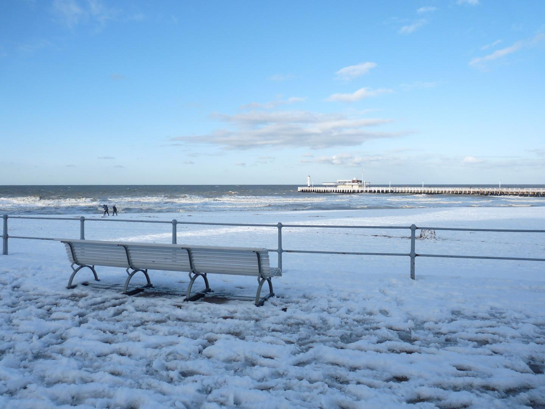 Mer et neige