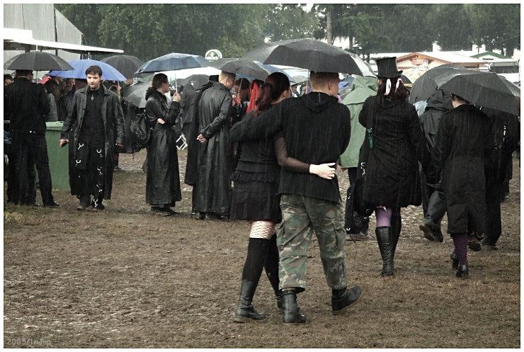 M'era Luna 2005 (...und es regnet)