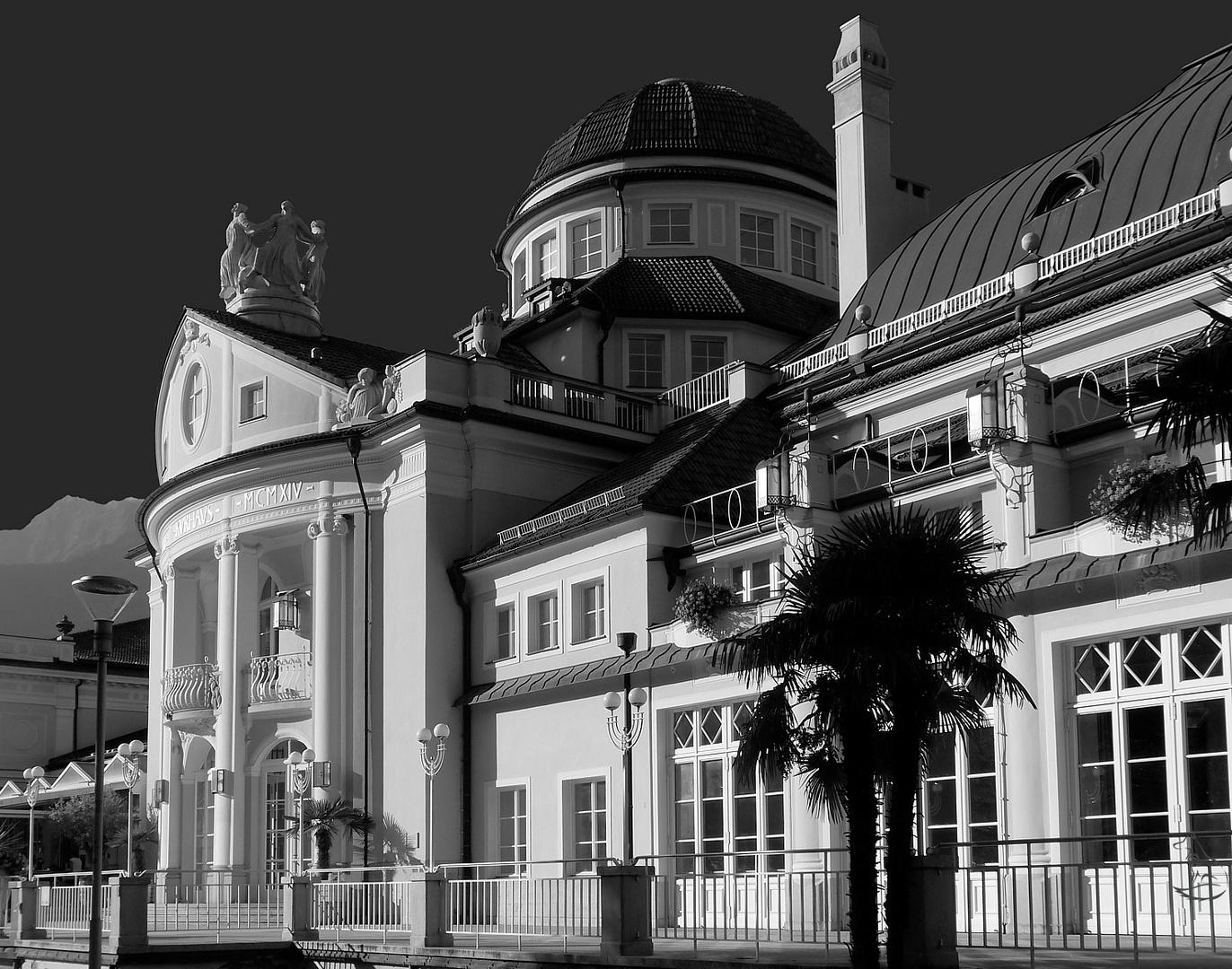 Meran - Das bekannte Kurhaus