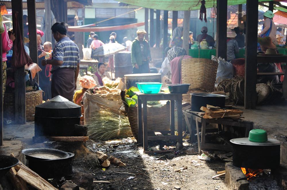 Mercado de Heho (Myanmar)