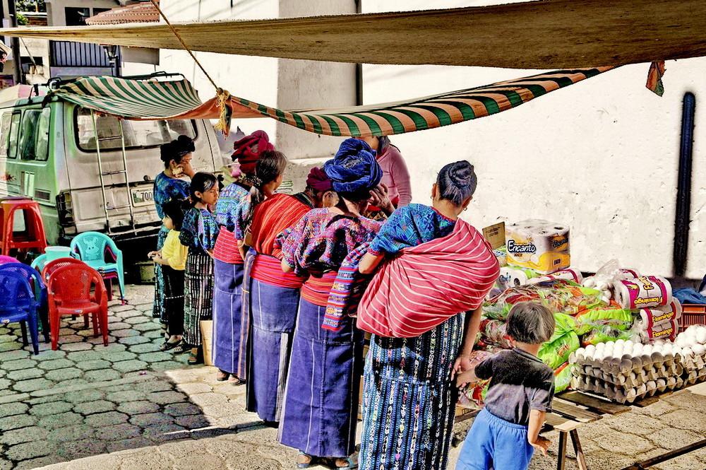 Mercado en Santa Catarina de Palopo/Guatemala