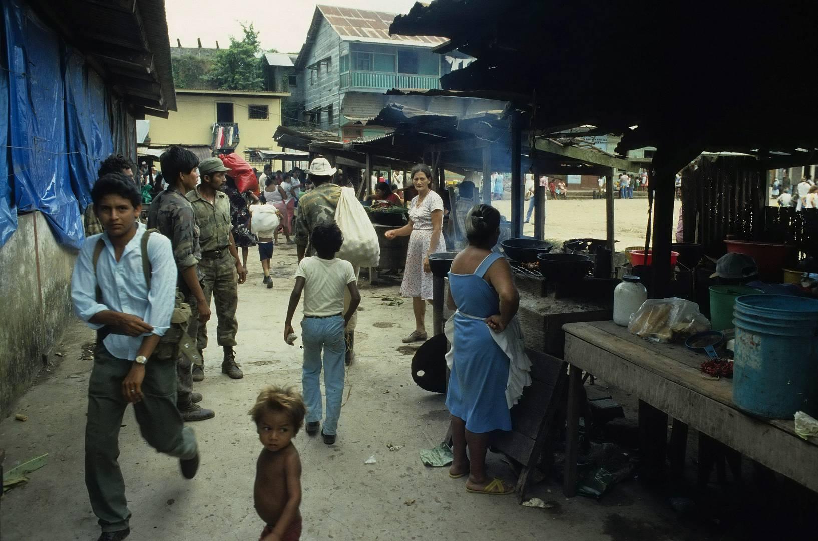 Mercado, Malecon de San Carlos 1984